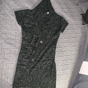 Dresses & Skirts - Black and gray sweater dress